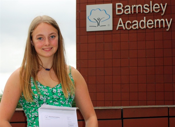 BARNSLEY ACADEMY CELEBRATES IMPROVEMENTS AT GCSE